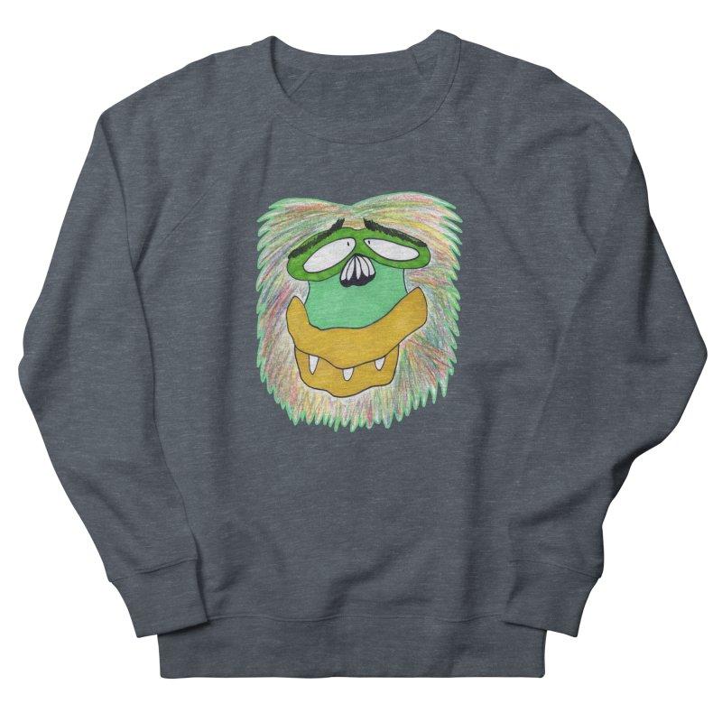 Monkey Guy Women's French Terry Sweatshirt by NatiRomero's Artist Shop