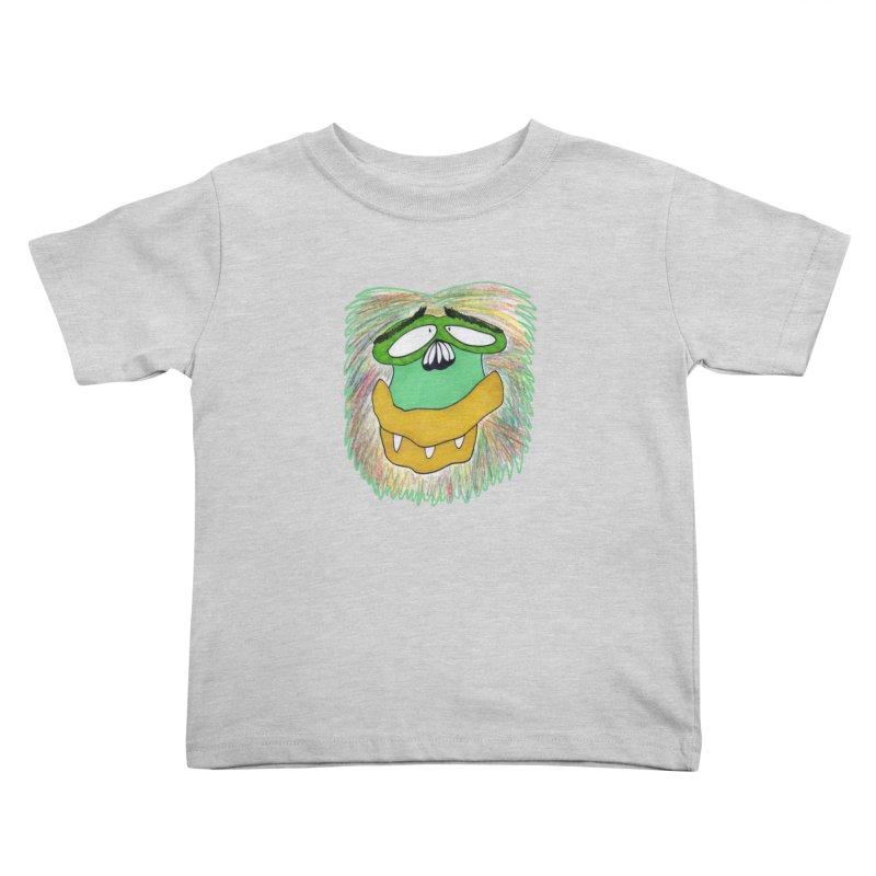 Monkey Guy Kids Toddler T-Shirt by NatiRomero's Artist Shop