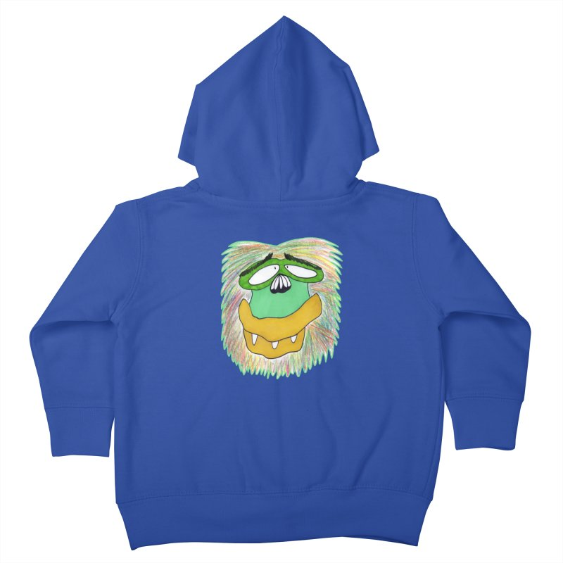 Monkey Guy Kids Toddler Zip-Up Hoody by NatiRomero's Artist Shop