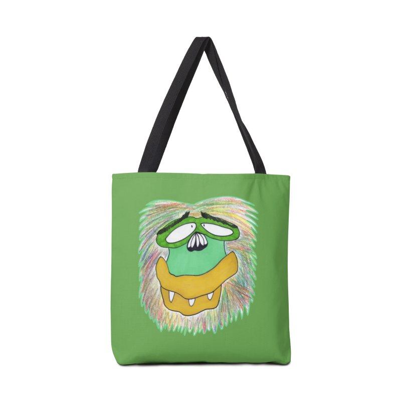 Monkey Guy Accessories Tote Bag Bag by NatiRomero's Artist Shop