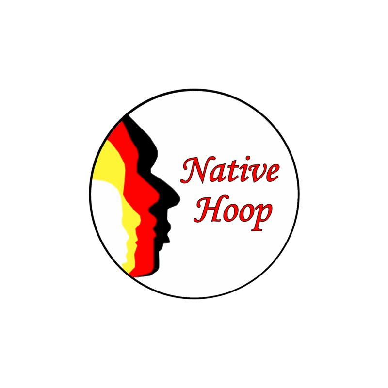 Native Hoop Logo Accessories Bag by NativeHoopMagazine's Artist Shop