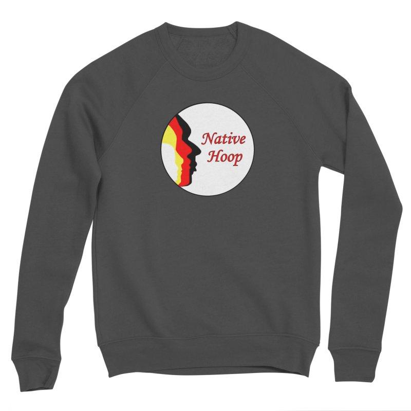 Native Hoop Logo Women's Sponge Fleece Sweatshirt by NativeHoopMagazine's Artist Shop