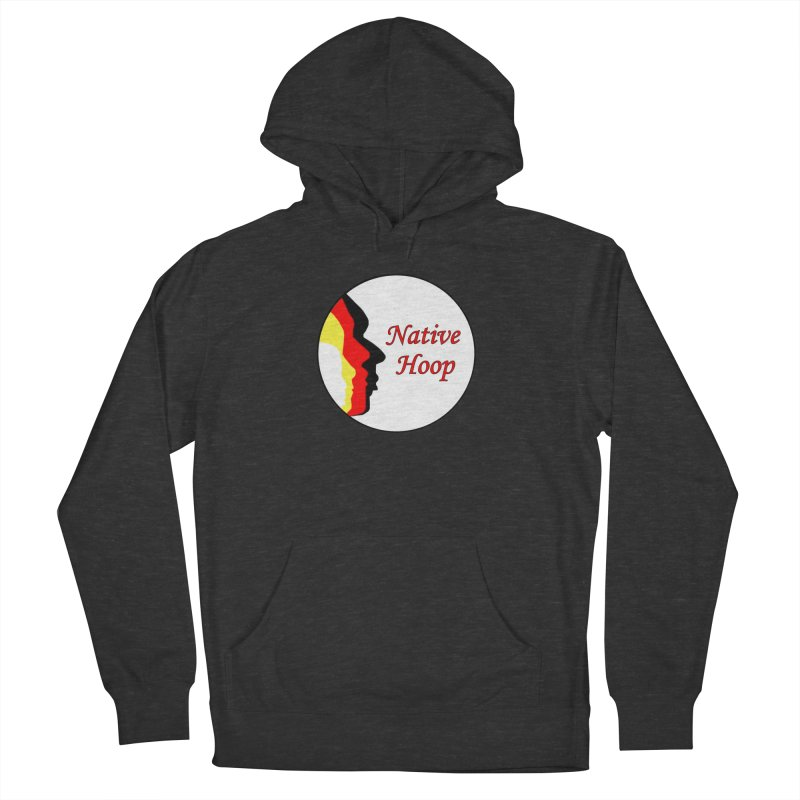 Native Hoop Logo Men's French Terry Pullover Hoody by NativeHoopMagazine's Artist Shop