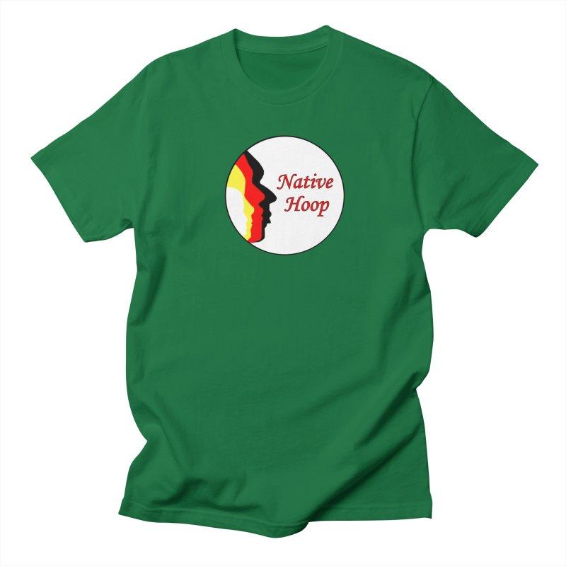 Native Hoop Logo Women's Regular Unisex T-Shirt by NativeHoopMagazine's Artist Shop