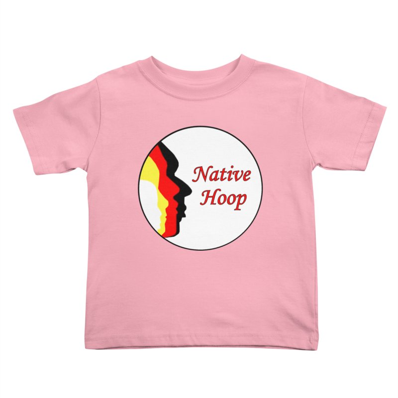 Native Hoop Logo Kids Toddler T-Shirt by NativeHoopMagazine's Artist Shop