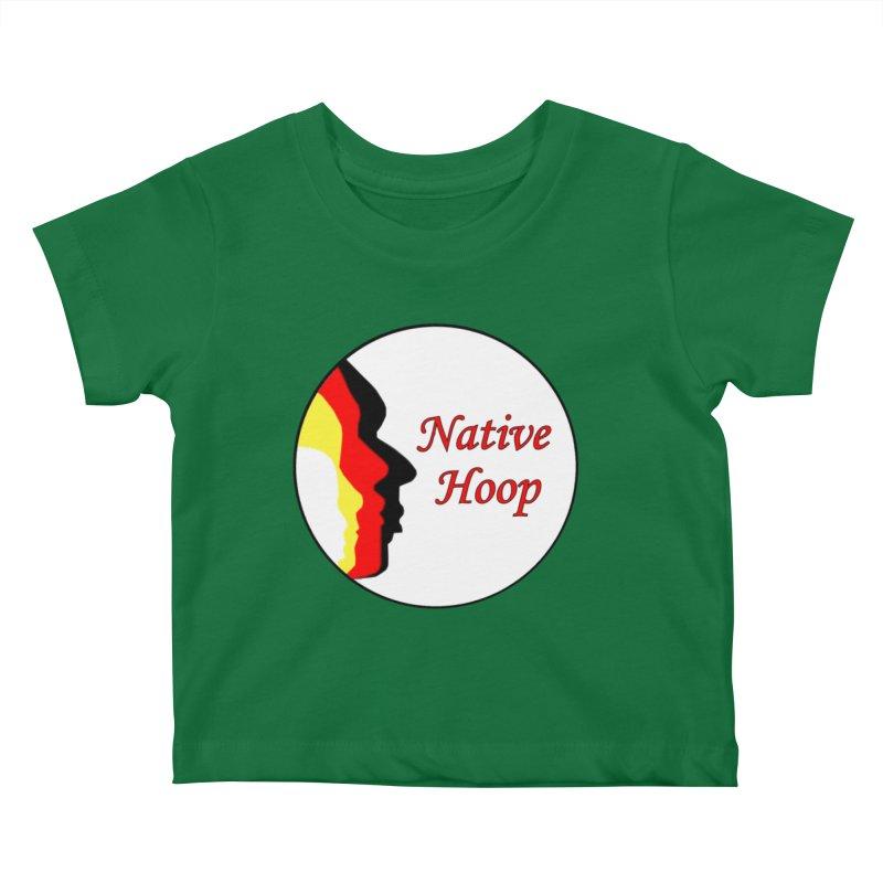 Native Hoop Logo Kids Baby T-Shirt by NativeHoopMagazine's Artist Shop