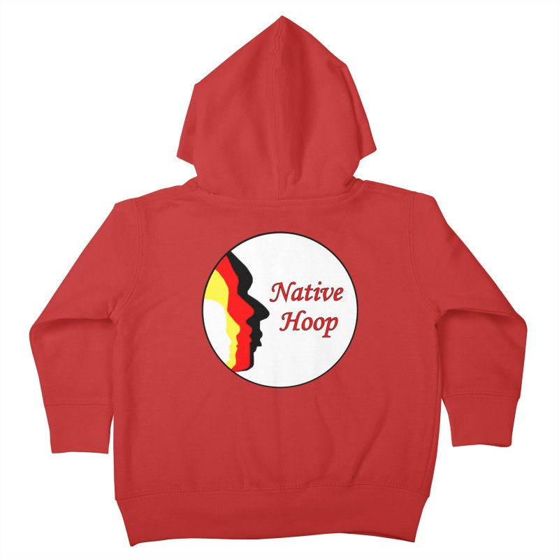 Native Hoop Logo Kids Toddler Zip-Up Hoody by NativeHoopMagazine's Artist Shop