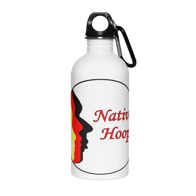 Native Hoop Logo Accessories Water Bottle by NativeHoopMagazine's Artist Shop