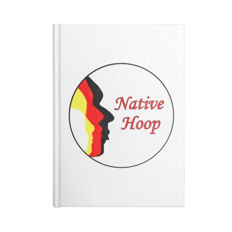 Native Hoop Logo Accessories Lined Journal Notebook by NativeHoopMagazine's Artist Shop