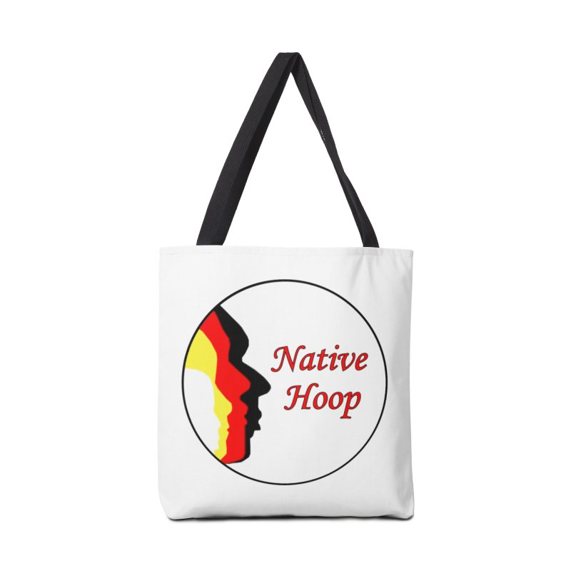 Native Hoop Logo Accessories Tote Bag Bag by NativeHoopMagazine's Artist Shop