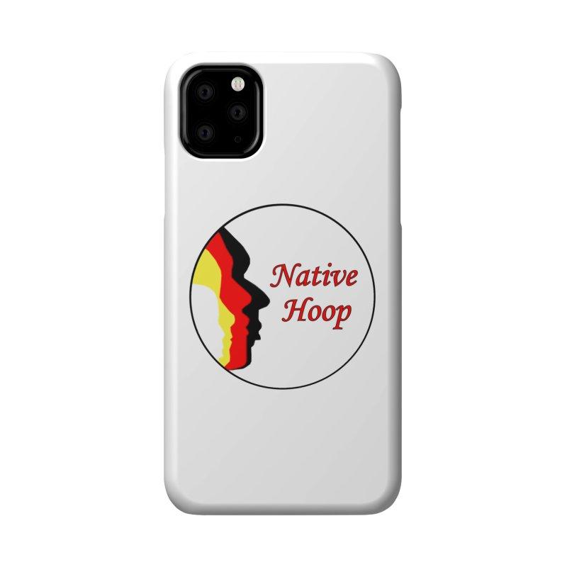 Native Hoop Logo Accessories Phone Case by NativeHoopMagazine's Artist Shop