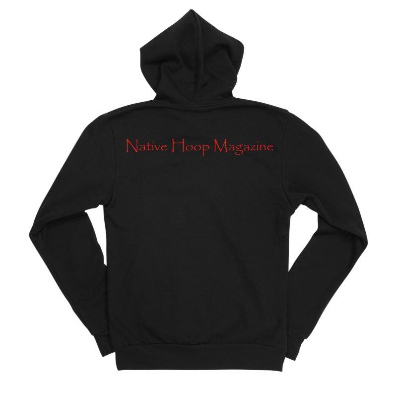 Native Hoop Magazine Men's Sponge Fleece Zip-Up Hoody by NativeHoopMagazine's Artist Shop
