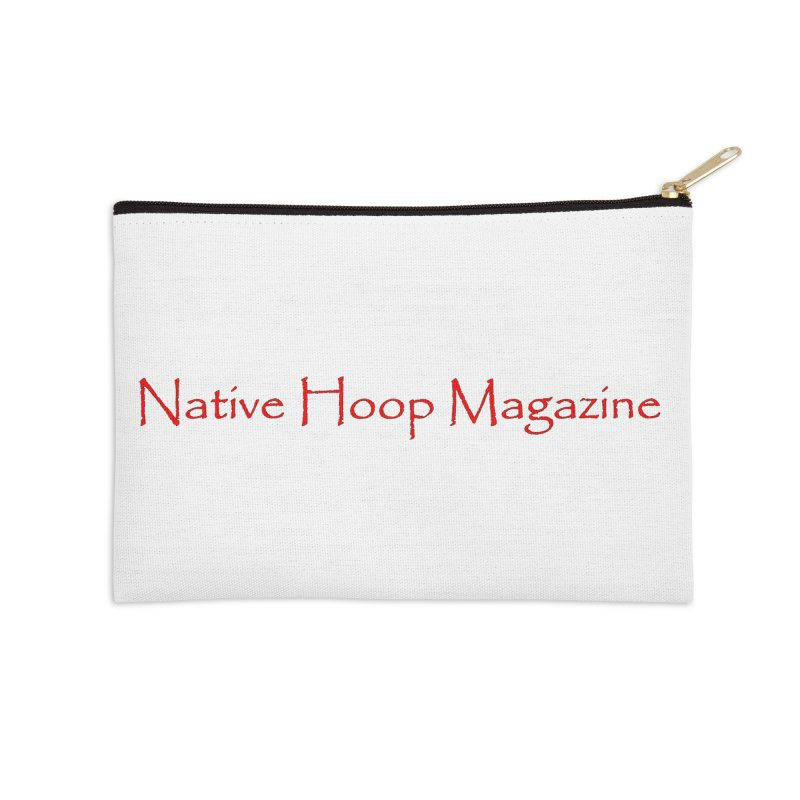 Native Hoop Magazine Accessories Zip Pouch by NativeHoopMagazine's Artist Shop