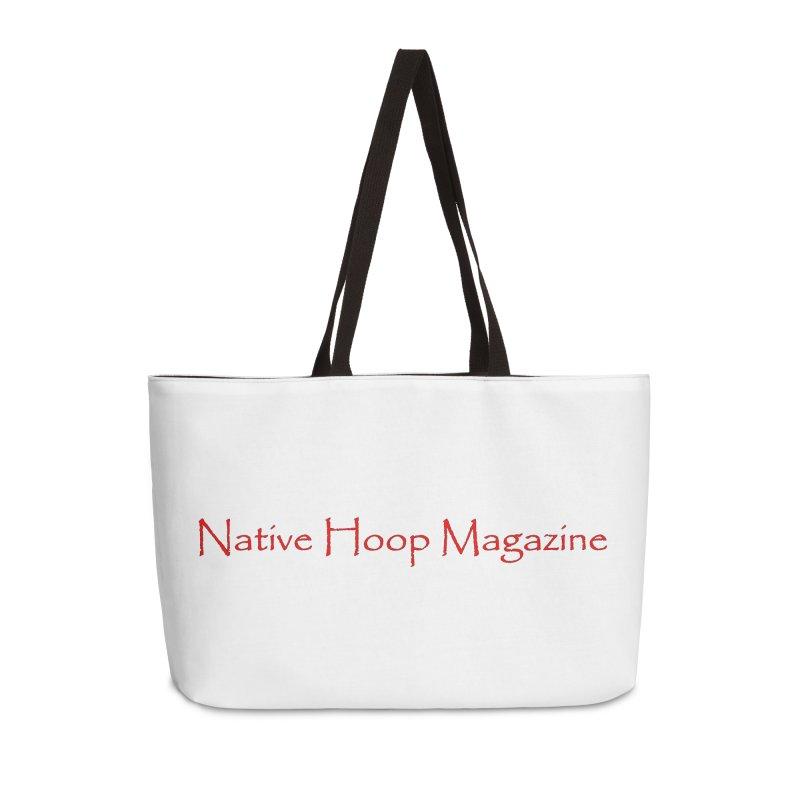 Native Hoop Magazine Accessories Weekender Bag Bag by NativeHoopMagazine's Artist Shop