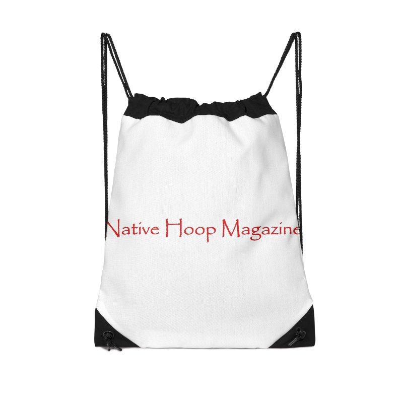 Native Hoop Magazine Accessories Drawstring Bag Bag by NativeHoopMagazine's Artist Shop