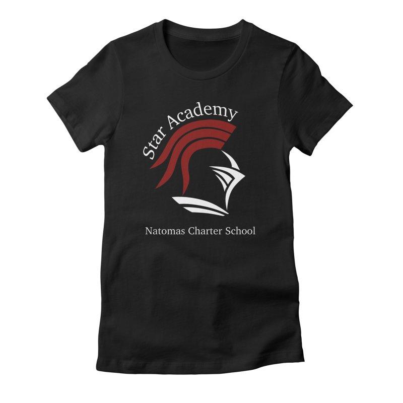 Star Academy  - Black Women's T-Shirt by NatomasCharterSchool's Artist Shop