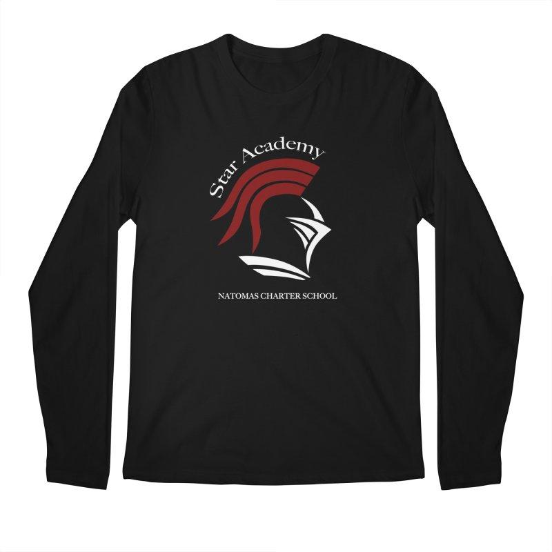 Star Academy  - Black Men's Longsleeve T-Shirt by NatomasCharterSchool's Artist Shop