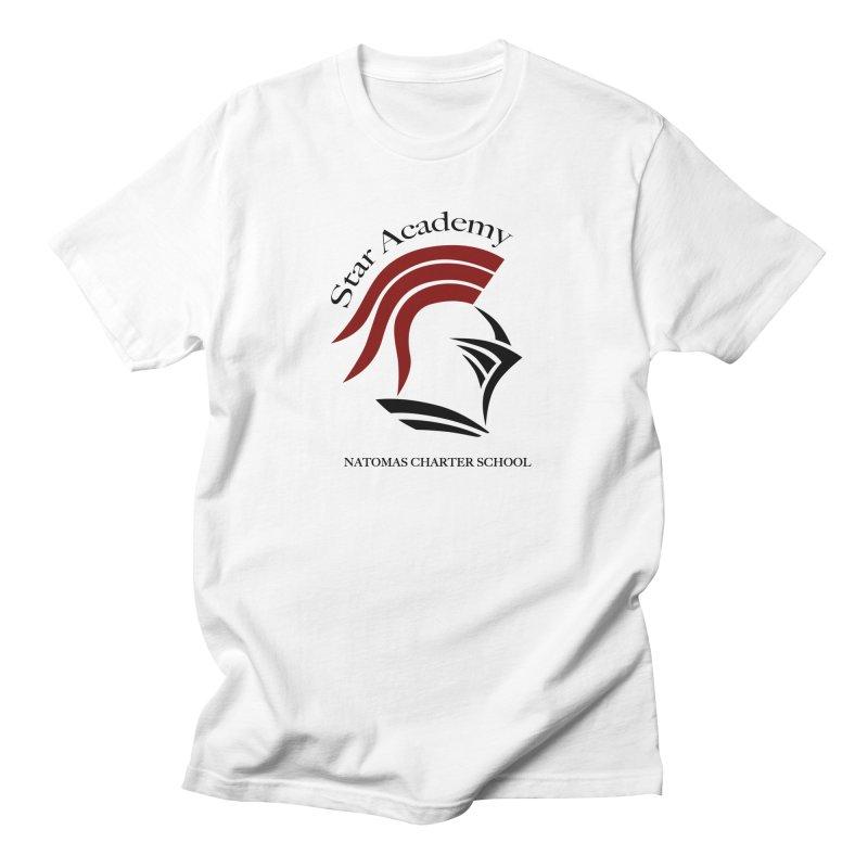Star Academy - White Men's T-Shirt by NatomasCharterSchool's Artist Shop