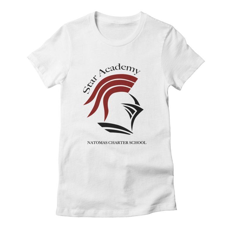 Star Academy - White Women's T-Shirt by NatomasCharterSchool's Artist Shop