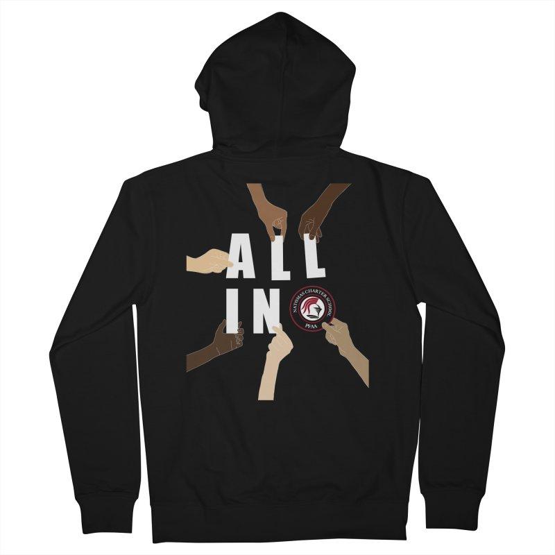 PFAA - All In Women's Zip-Up Hoody by NatomasCharterSchool's Artist Shop