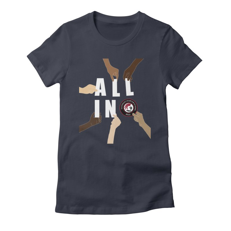 PFAA - All In Women's T-Shirt by NatomasCharterSchool's Artist Shop