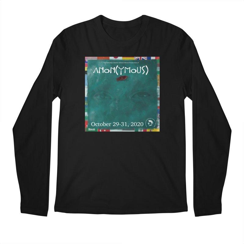 Anon(ymous) Men's Longsleeve T-Shirt by NatomasCharterSchool's Artist Shop