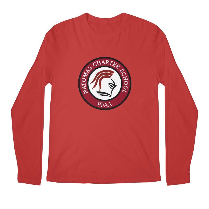 PFAA-ABS Red Men's Longsleeve T-Shirt by NatomasCharterSchool's Artist Shop
