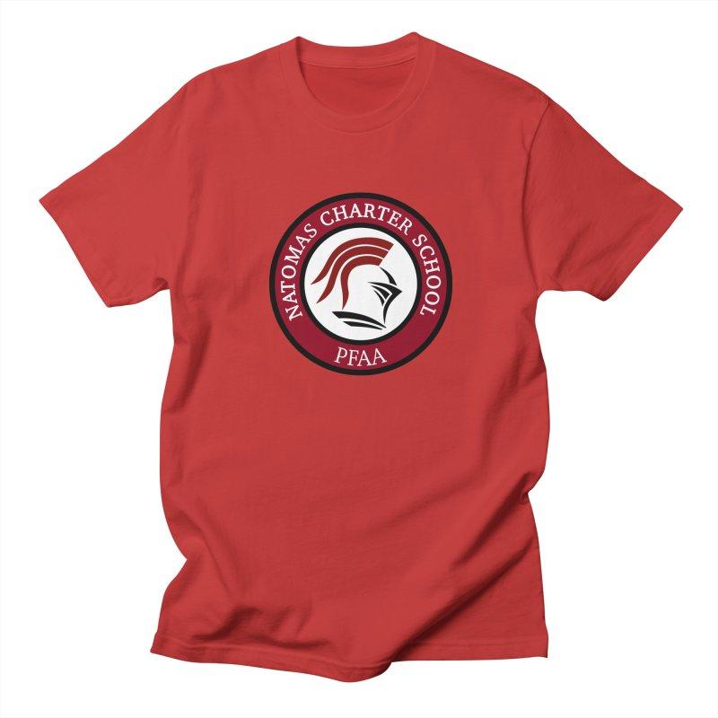 PFAA-ABS Red Men's T-Shirt by NatomasCharterSchool's Artist Shop