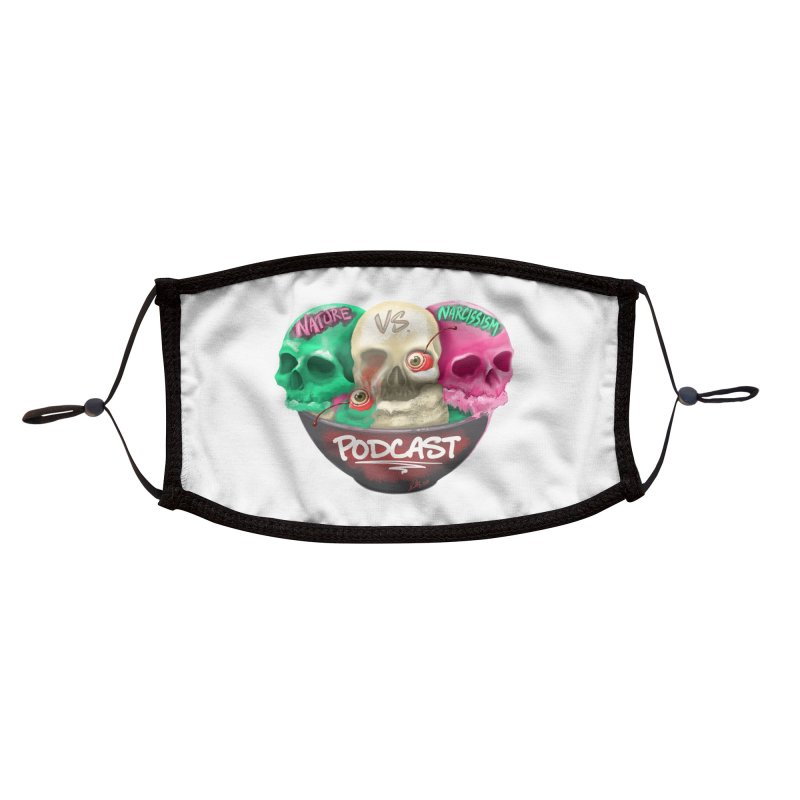 New Logo (transparent) Accessories Face Mask by NaturevsNarcissism's Podcast Swag Shop