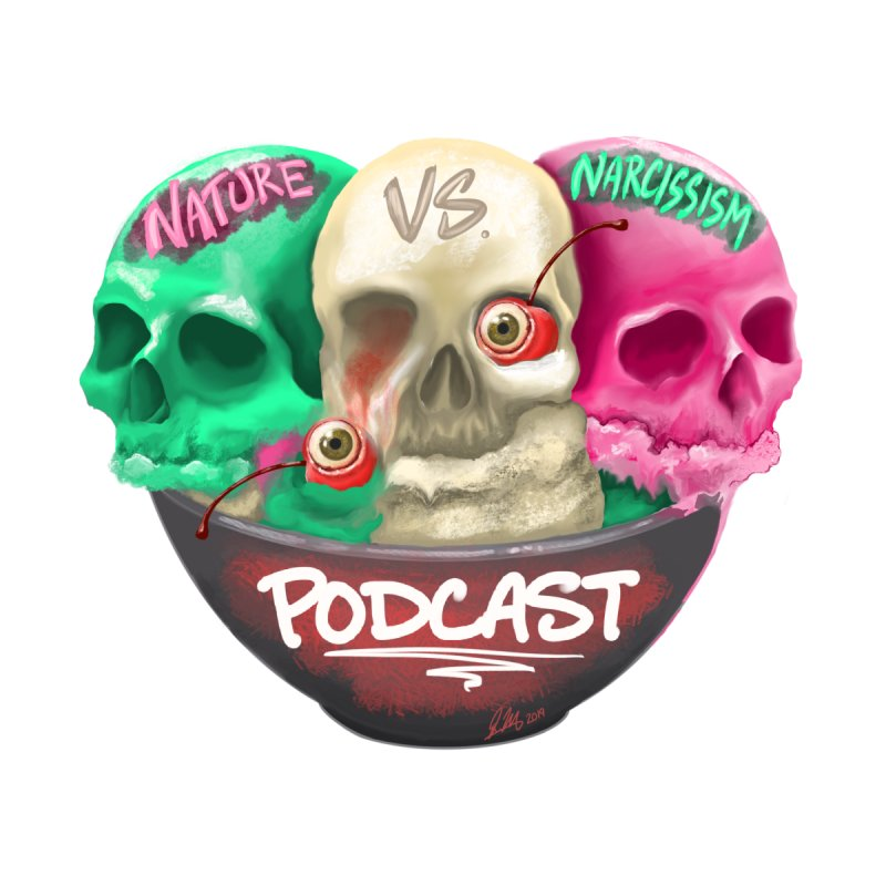 New Logo (transparent) by NaturevsNarcissism's Podcast Swag Shop