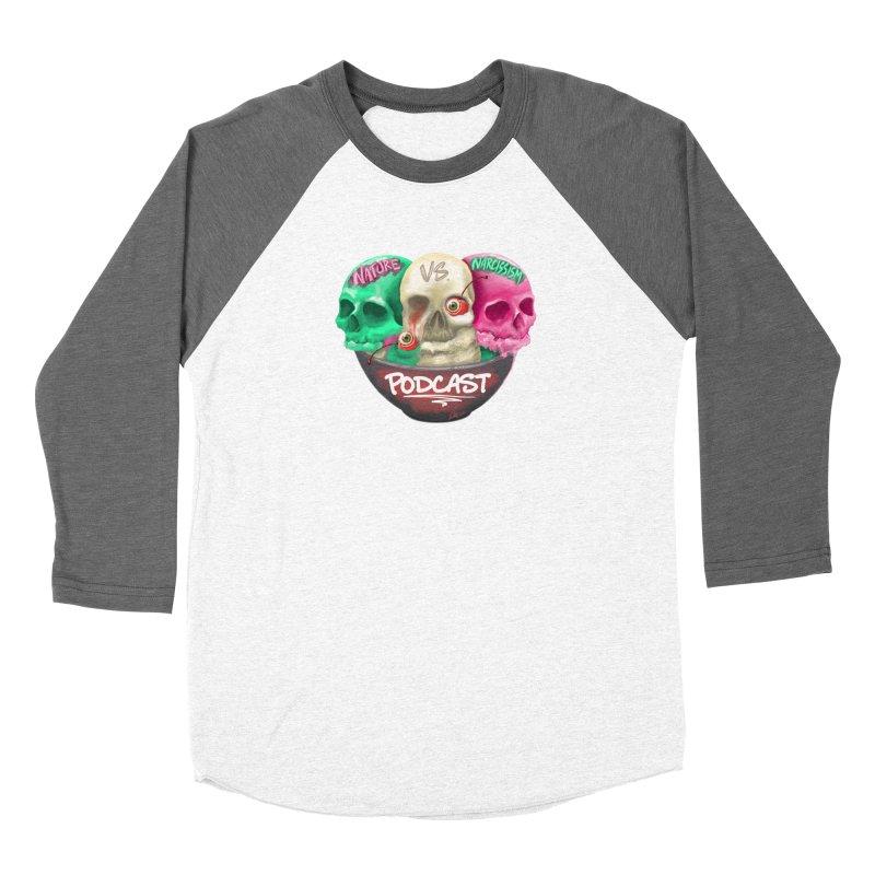 New Logo (transparent) Women's Longsleeve T-Shirt by NaturevsNarcissism's Podcast Swag Shop