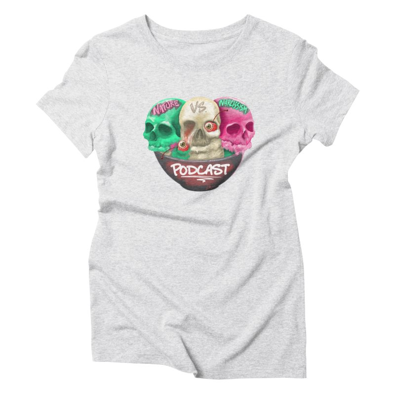 New Logo (transparent) Women's T-Shirt by NaturevsNarcissism's Podcast Swag Shop