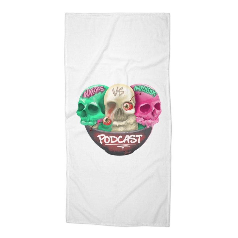 New Logo (transparent) Accessories Beach Towel by NaturevsNarcissism's Podcast Swag Shop