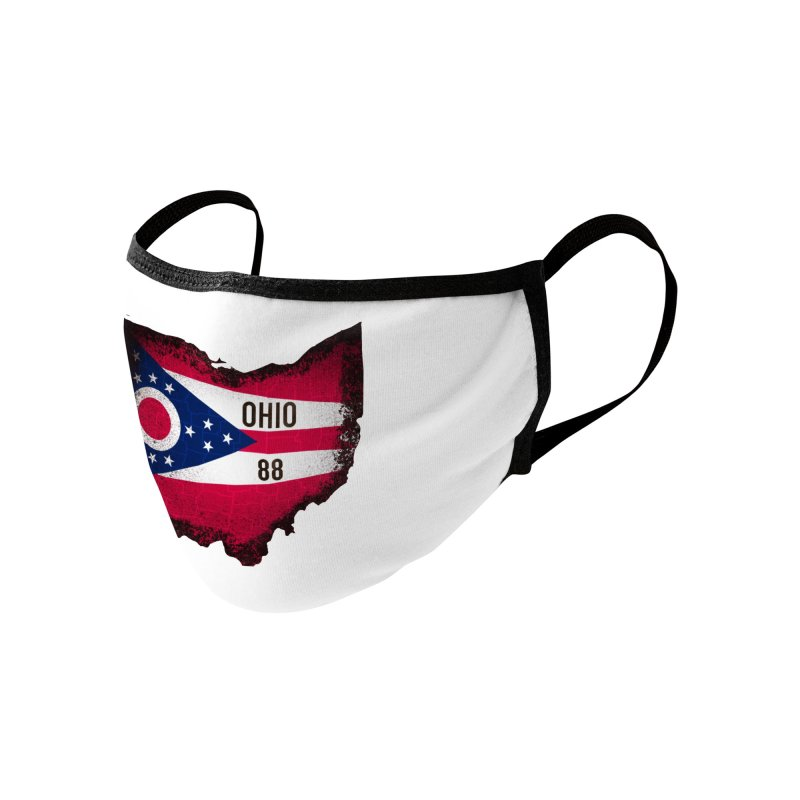 Ohio 88 Logo (transparent) Accessories Face Mask by NaturevsNarcissism's Podcast Swag Shop
