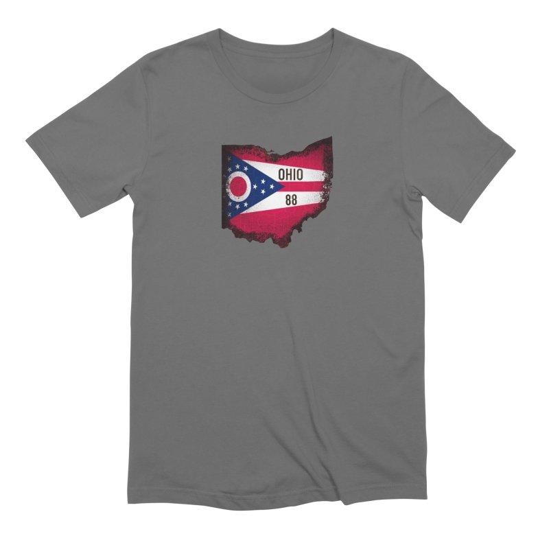 Ohio 88 Logo (transparent) Men's T-Shirt by NaturevsNarcissism's Podcast Swag Shop