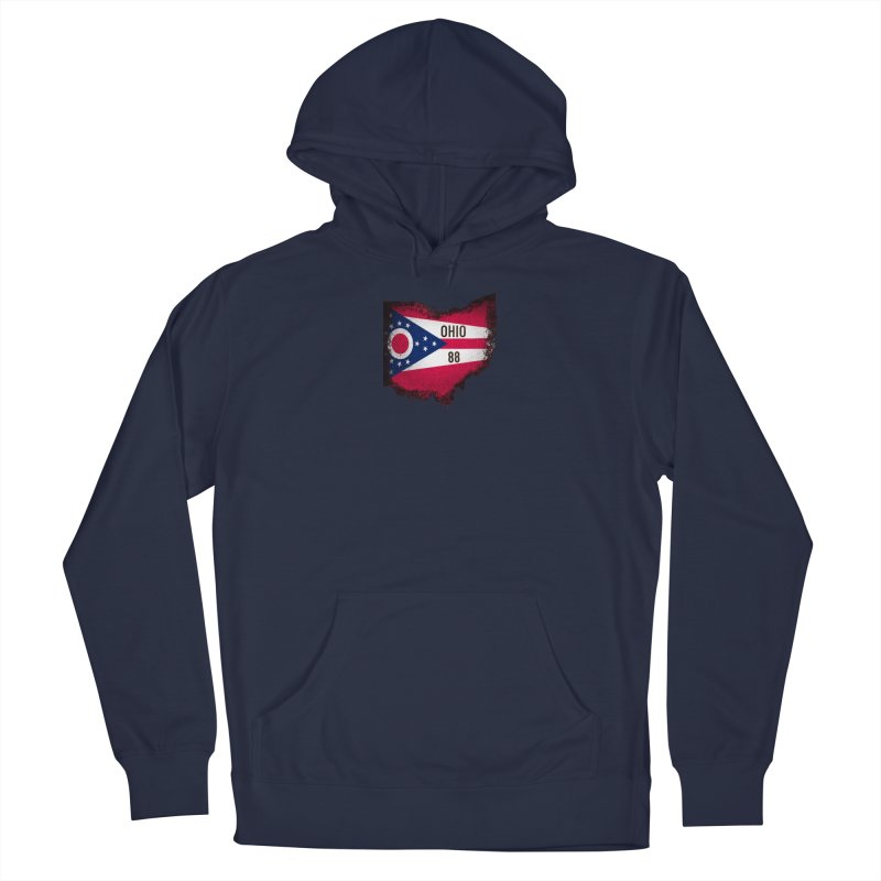 Ohio 88 Logo (transparent) Men's Pullover Hoody by NaturevsNarcissism's Podcast Swag Shop