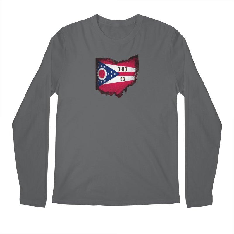 Ohio 88 Logo (transparent) Men's Longsleeve T-Shirt by NaturevsNarcissism's Podcast Swag Shop