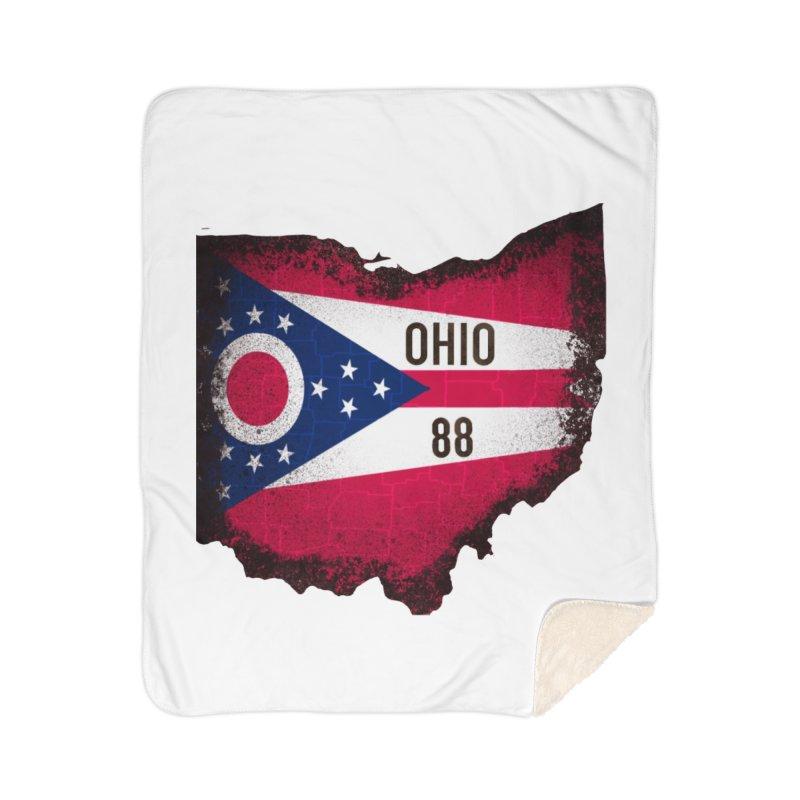 Ohio 88 Logo (transparent) Home Blanket by NaturevsNarcissism's Podcast Swag Shop