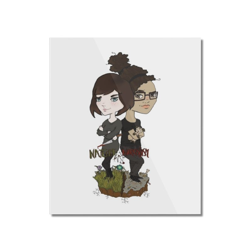 Heather & Marveliz Home Mounted Acrylic Print by NaturevsNarcissism's Podcast Swag Shop