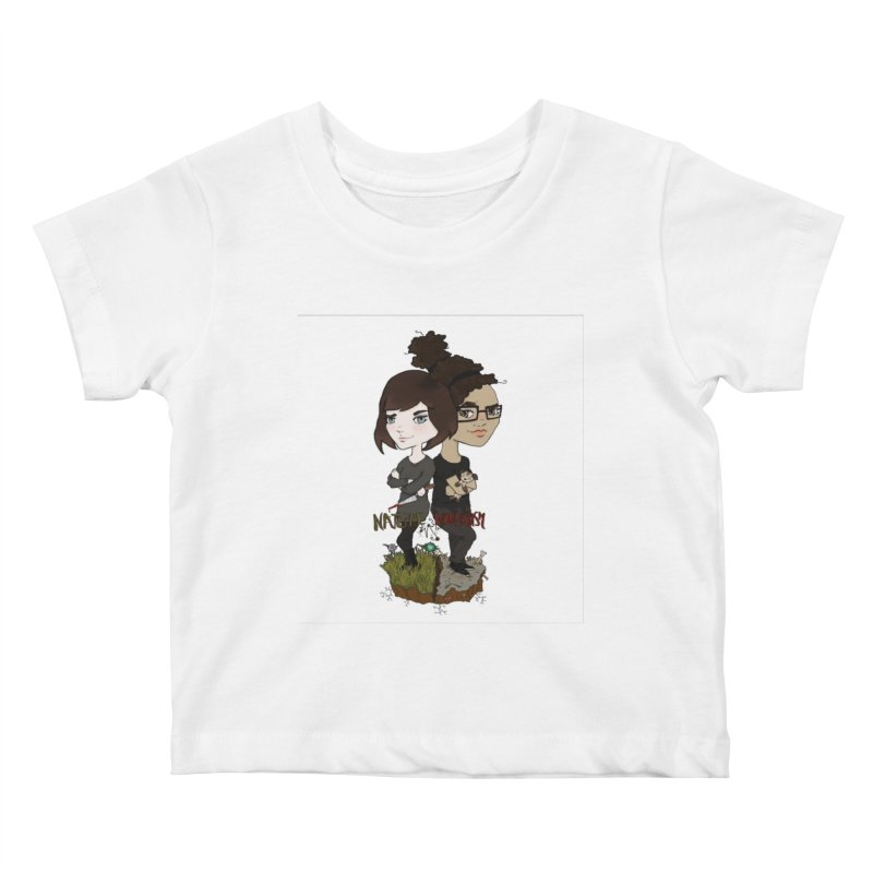Heather & Marveliz Kids Baby T-Shirt by NaturevsNarcissism's Podcast Swag Shop