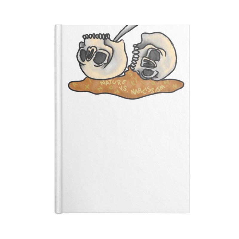 #BrainBowls Accessories Lined Journal Notebook by NaturevsNarcissism's Podcast Swag Shop