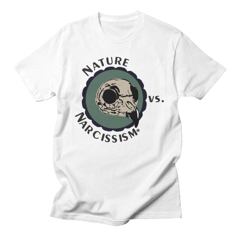 Original Nature vs Narcissism Logo Men's T-Shirt by NaturevsNarcissism's Podcast Swag Shop