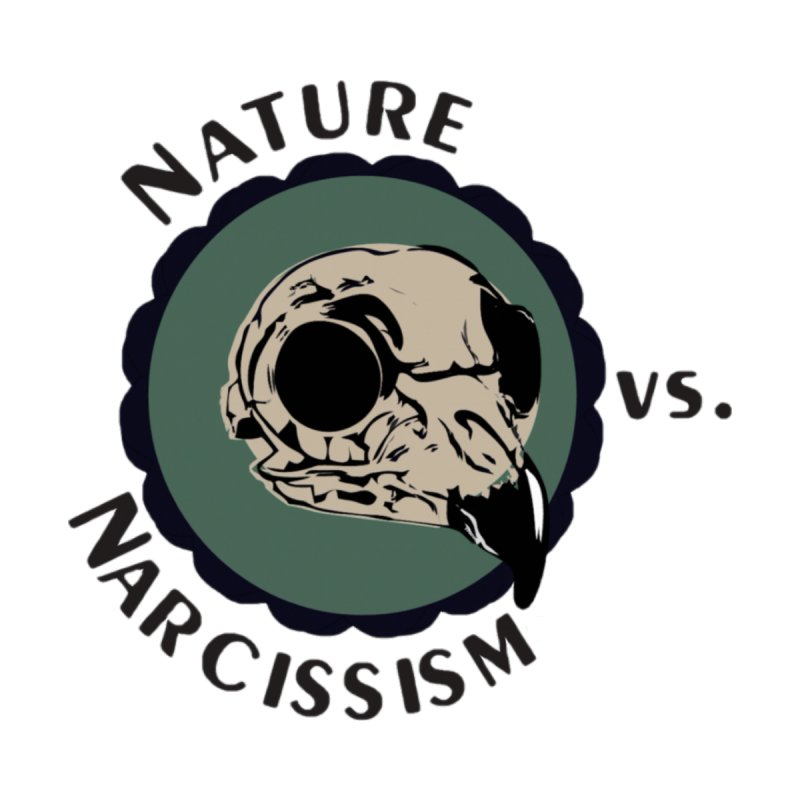 Original Nature vs Narcissism Logo (transparent) Men's T-Shirt by NaturevsNarcissism's Podcast Swag Shop