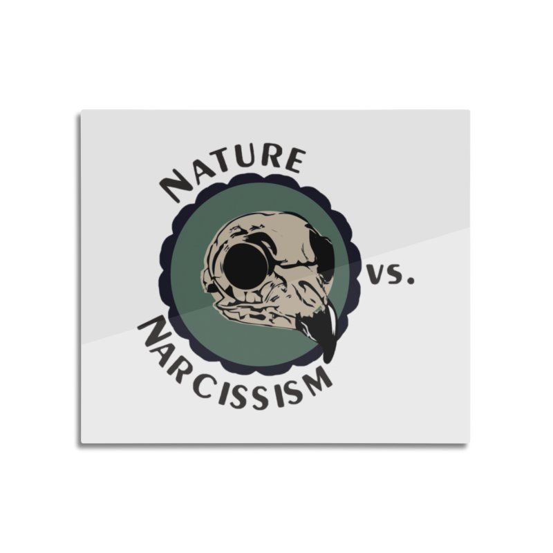 Original Nature vs Narcissism Logo (transparent) Home Mounted Acrylic Print by NaturevsNarcissism's Podcast Swag Shop