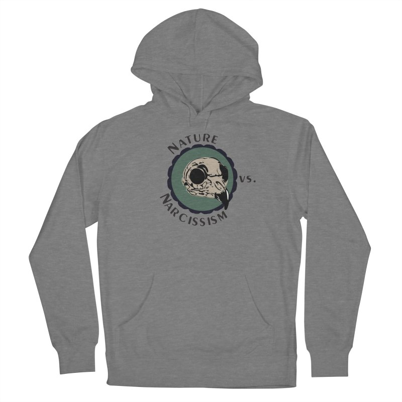 Original Nature vs Narcissism Logo (transparent) Women's Pullover Hoody by NaturevsNarcissism's Podcast Swag Shop