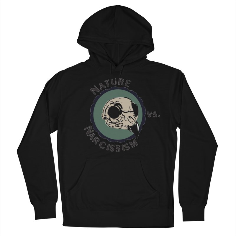 Original Nature vs Narcissism Logo (transparent) Women's French Terry Pullover Hoody by NaturevsNarcissism's Podcast Swag Shop