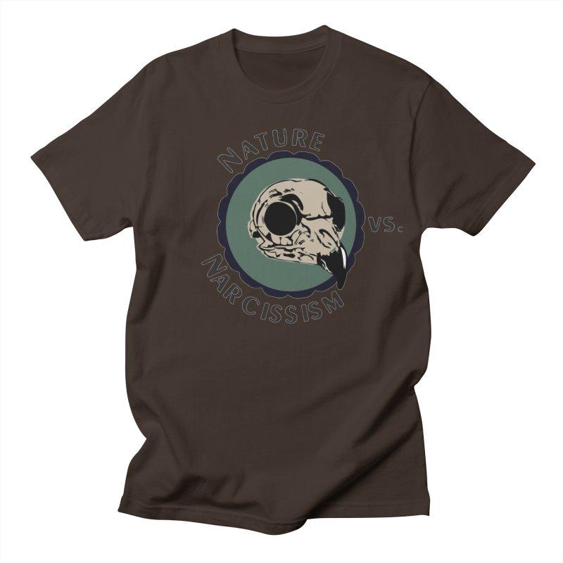 Original Nature vs Narcissism Logo (transparent) Men's T-Shirt by NaturevsNarcissism's Podcast Swag Shop