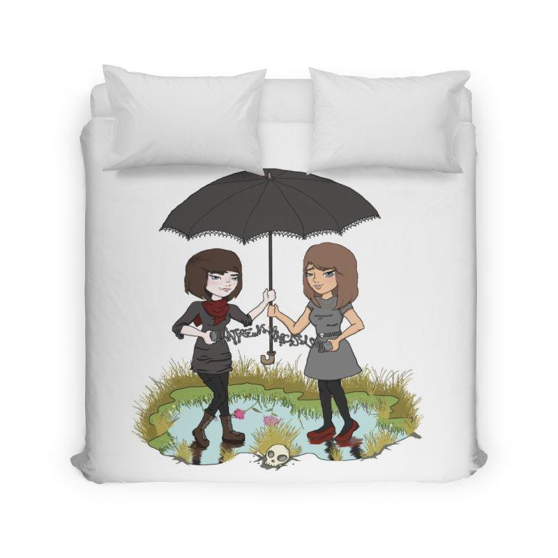 Heather & Rachelle / #SlinkyCrimes Home Duvet by NaturevsNarcissism's Podcast Swag Shop