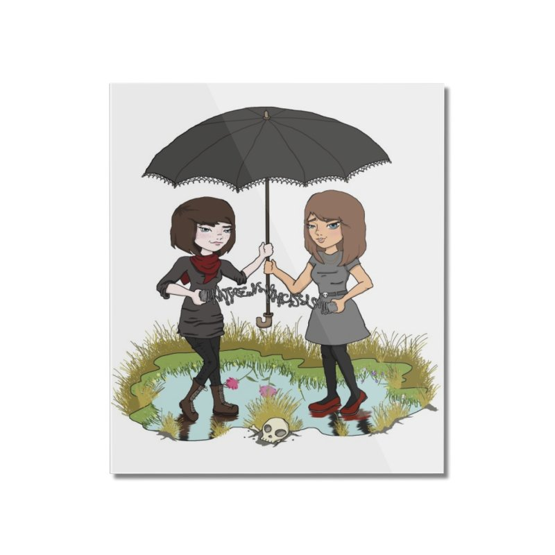 Heather & Rachelle / #SlinkyCrimes Home Mounted Acrylic Print by NaturevsNarcissism's Podcast Swag Shop