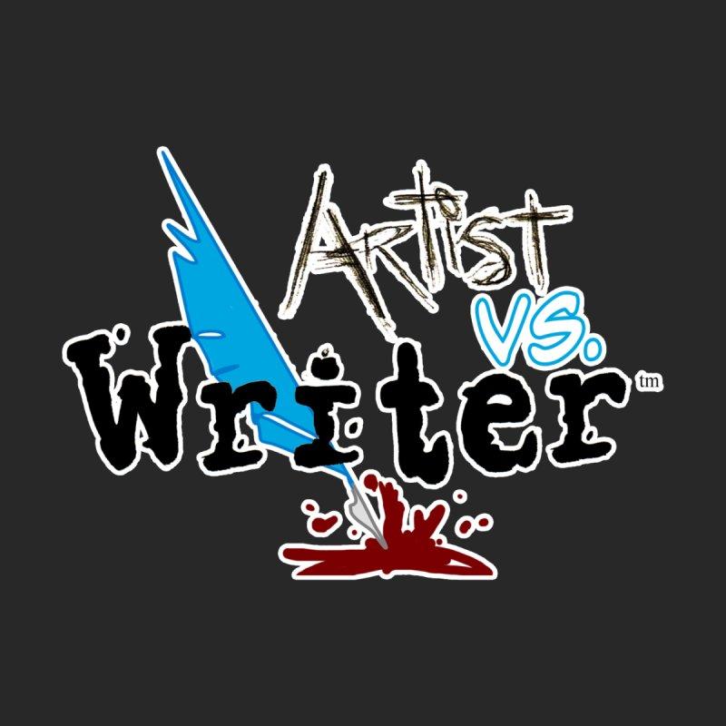 Artist vs. Writer Men's T-Shirt by Near Mint Mill's Artist Shop